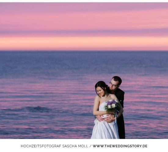 Hochzeitsfotograf, Pre Wedding Shooting, After Wedding Shooting, China, Brautkleid, Ostsee, Strand, Hochzeitsfotos, Hochzeit, Fotoshootings, Brautpaar, Portrait