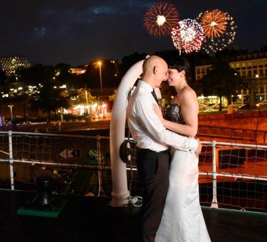 Als Hochzeitsfotograf auf der Rickmer Rickmers - Hochzeitsreport