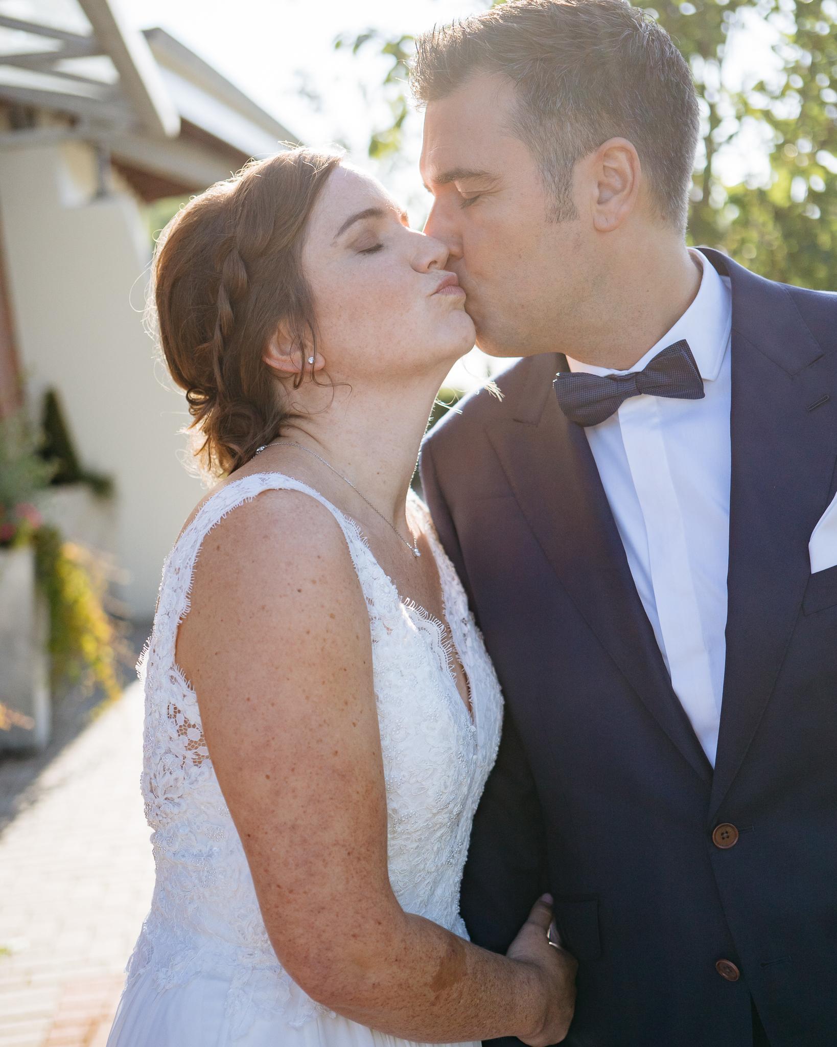 First Look Hochzeitsfoto