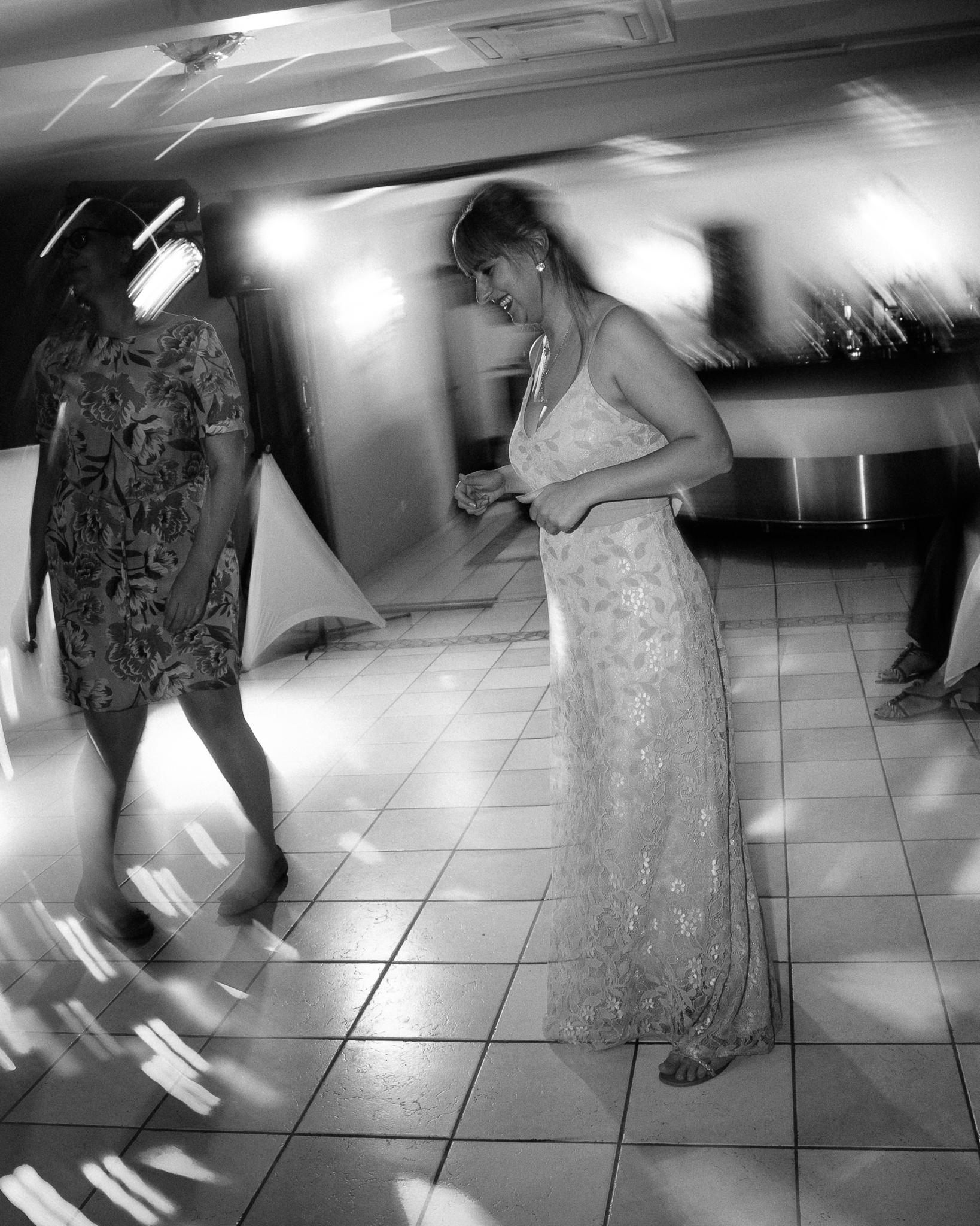 Partyfoto Langzeitbelichtung